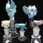 Salt Glass Bowls