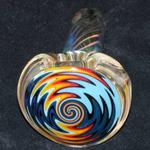 Fumed and Worked Hand Pipe