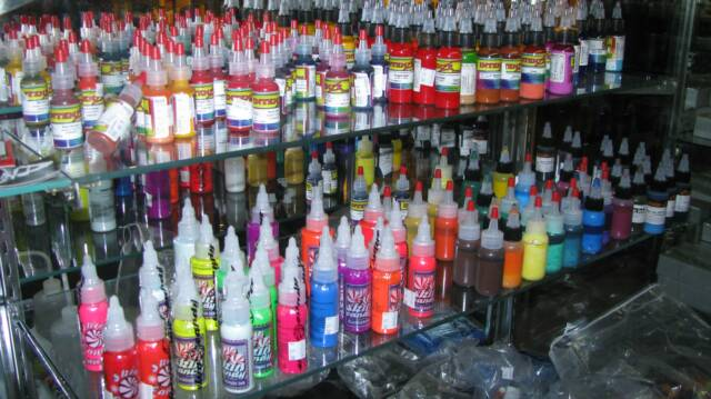 Tattoo Supplies at Puff n Stuff